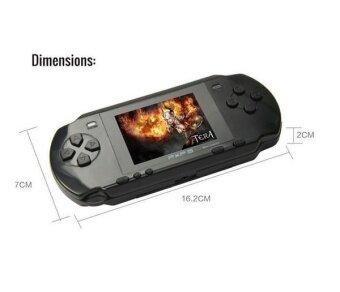 16 bit Handheld Game Console Portable Video Game 150 Games RetroMegadrive PXP PVP PSP (Red) - intl - 4