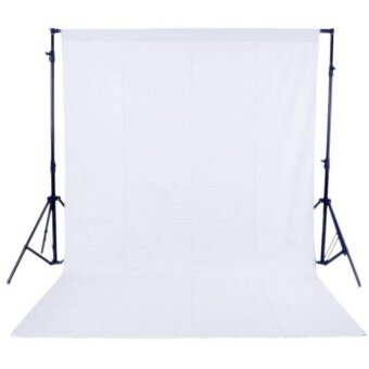 Harga 1.6 x 3M / 5 x 10FT Photography Studio Non-woven Backdrop /Background Screen White ^ - intl