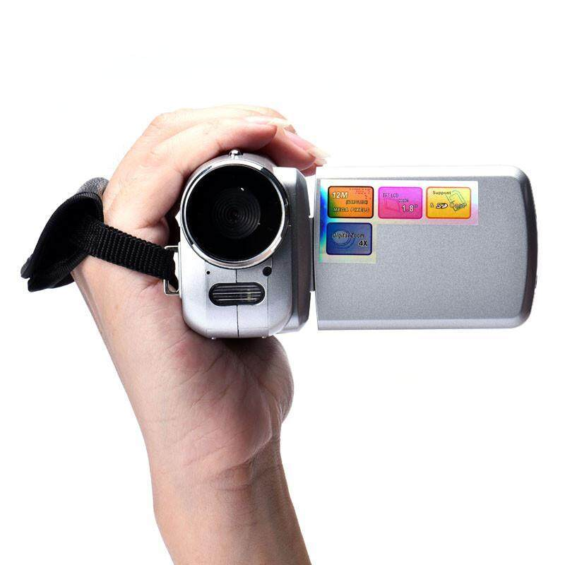 1.8 Inch TFT 4X Digital Zoom Mini Video Camera Silver - intl