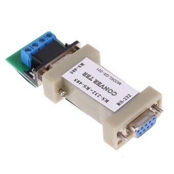 1pc Serial RS232 to RS485 Passive Port Data Communication ConverterAdapter - intl