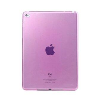 1st Cyber เคสไอแพด มินิ 1/2/3 Transparent Soft TPU Back Cover Skin Shell for Apple iPad Mini 1/2/3 (Pink)