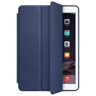 1st Cyber เคสไอแพด 2/3/4 รุ่น Ultra slim PU Leather Flip Smart Stand Case For Apple iPad 2/3/4 (Dark blue)