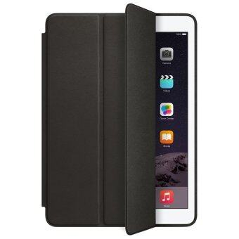 1st Cyber เคสไอแพด 2/3/4 รุ่น Ultra slim PU Leather Flip SmartStand Case For Apple iPad 2/3/4 (Black)