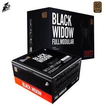 จัดโปรโมชั่น 1st Player BlackWidow Series 500W 80PLUS Bronze Power Supply