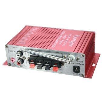 เครื่องเสียงลำโพงเครื่องขยายสัญญาณ 2-CH AMP สำหรับรถมอเตอร์ไซค์ MP3FM เสียงเพลงมินิ - 2