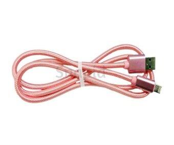 รีวิว 2 In 1 Fast Charging Nylon Braided Micro USB/iPhone Cable For Android/ios Phone (Color:c0)