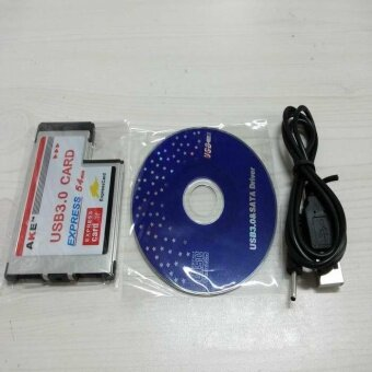 2 Port USB 3.0 Express Card 54Mm Adapter Epresscard Hub Superspeed- intl