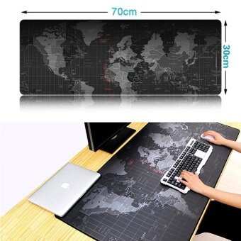 2017 New Fashion Old World Map Mouse Pad Large Pad for MouseNotbook Computer Mousepad Gaming Mouse Mats(30cm*70cm) - intl