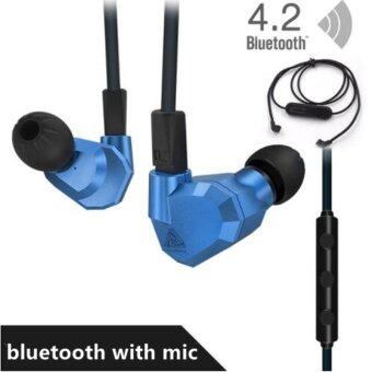2017 New KZ ZS5 2DD+2BA Hybrid In Ear Earphone HIFI DJ MonitoRunning Sport Earphones Earplug Headset Earbud - intl