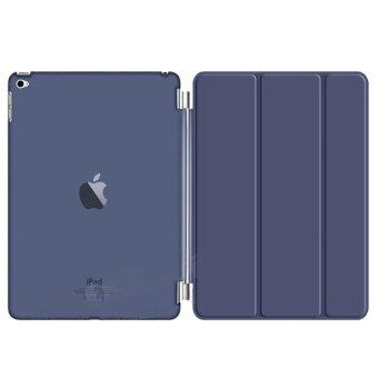เคสไอแพด 2/3/4 รุ่น Magnetic Smart Cover and Hard Back Case for Apple iPad 2/3/4 (Dark Blue)