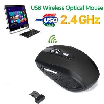 2.4GHz Wireless Mice Mouse With USB 2.0 Receiver for PC Laptop