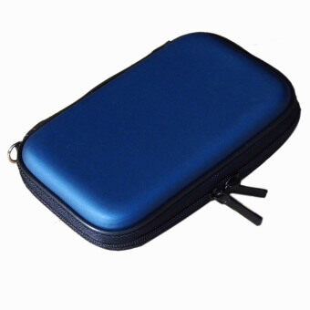 2.5 inch IDE SATA HDD Hard Disk Drive Storage Box (Blue)