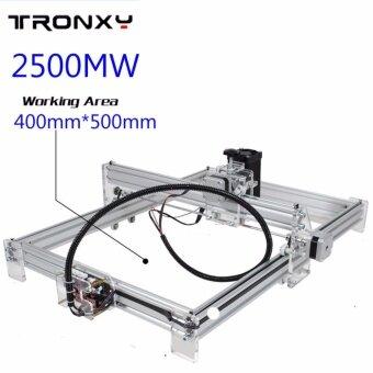 เปรียบเทียบราคา 2500mW 40x50cm Desktop DIY Violet Laser Engraver Picture CNCPrinter Laser Jet Assembling Kits - intl