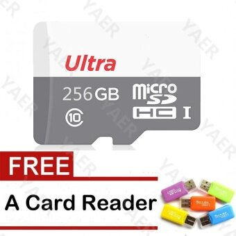 256GB Micro Sd Card /TF card for Mobile Phone smart phone Mp3 Mp4Camera With Card Reader - intl