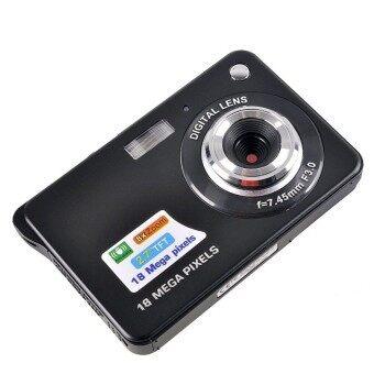 2.7inch 18MP 8x Zoom TFT LCD HD Mini Digital Camera (Black) - intl