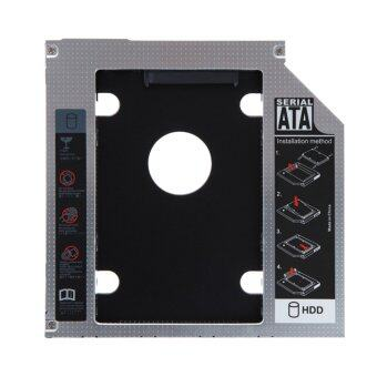 2nd 9.5mm SATA HDD SSD Hard Drive Caddy Bay for MacBook (Intl)(Intl)