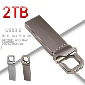 2TB Mini Waterproof USB flash drive 3.0-Silver - intl