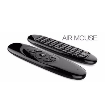 3 in 1 2.4GHz Wireless Air Mouse Full QWERTY Keyboard Support TV Remote Control 112526148743 - intl