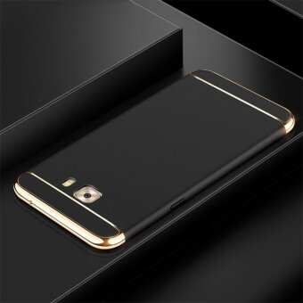 3 In 1 Fashion Ultra Thin Matte Hard Case for For Samsung Galaxy C9Pro/C9(black) - intl