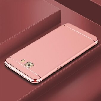 3 In 1 Fashion Ultra Thin Matte Hard Case for For Samsung Galaxy C9Pro/C9(rose gold) - intl