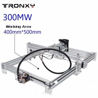 อยากขาย 300mW 40x50cm Desktop DIY Violet Laser Engraver Engraving MachinePicture CNC Printer - intl