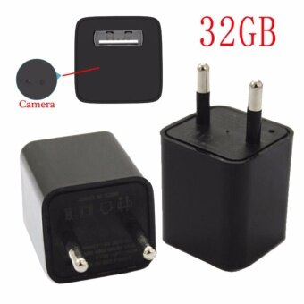 32GB HD SPY Camera USB Charger Model - intl