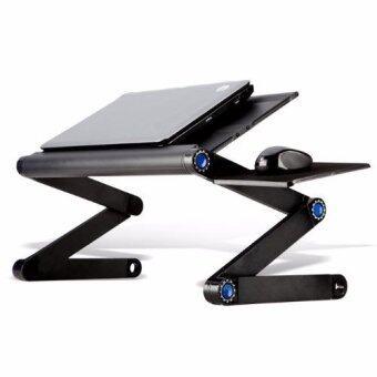 โต๊ะวางโน๊ตบุ๊ค แบบพกพา ปรับได้ 360