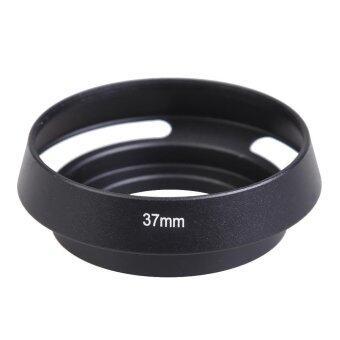 37mm Black Metal Lens Hood for Leica Leitz Canon Nikon OlympusPentax Lens - intl
