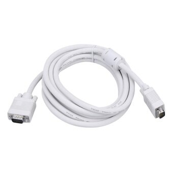 3m/9.8ft VGA Male to Male Extension Cable Cord for PC ComputerMonitor - intl