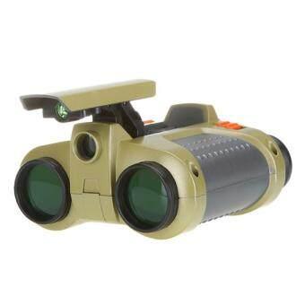 กล้องกล้องส่องกลางคืนที่มีแสงสว่างส่องไฟฉายขึ้นผุด 4 x 30มมกล้อง