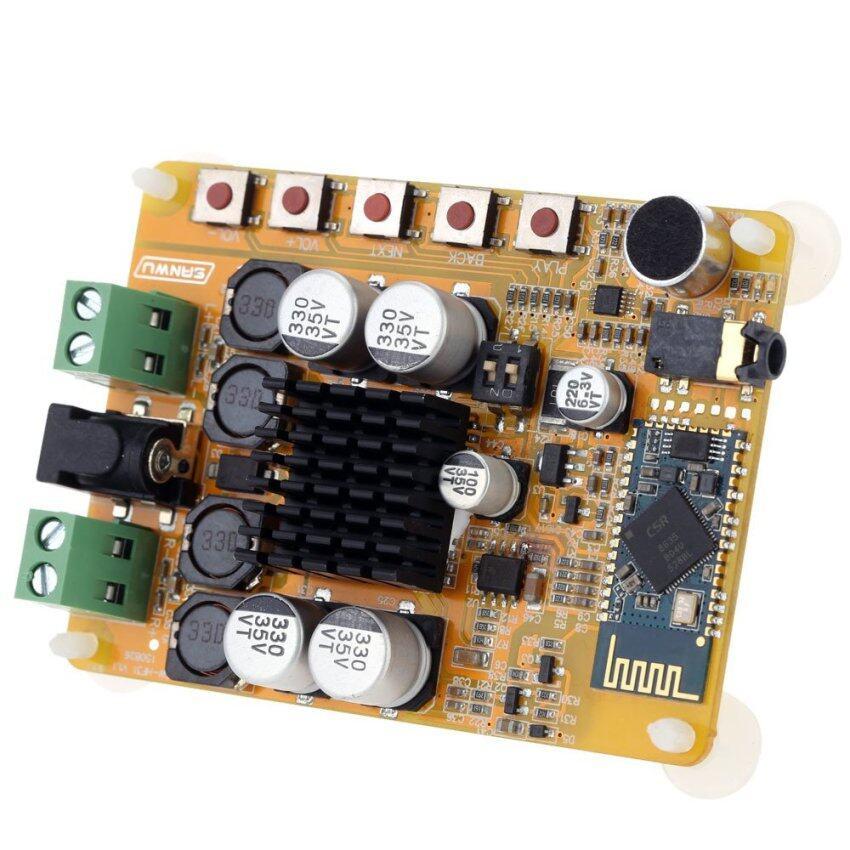 ไร้สายบลูทูธ 4.0 2 x 50วัตต์ 2 เป็นช่องหูฟังสเตอริโอเครื่องขยายสัญญาณเสียงดิจิตอลบอร์ดโมดูล TDA7492