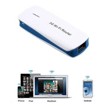 5 in 1 Mini Portable 150Mbps 3G WIFI Mobile Wireless Router Hotspot- intl