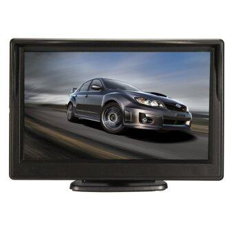 5 Inch TFT-LCD HD Car Rear View Rearview มอนิเตอร์ W/ Stand Reverse