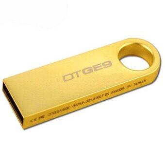 64GB USB 2.0 Flash Drive Metal Memory Stick Pen Key Storage Thumb UDisk (Gold)