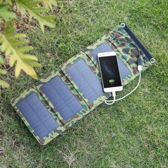 7 วัตต์ 5 โวลต์กลางแจ้ง Monocrystalline ขนาดซิลิคอนชาร์จพลังงานแสงอาทิตย์แบบพกพา USB Charger สำหรับโทรศัพท์มือถือ Power Supply