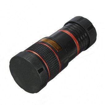 ยูนิเวอร์แซล 8 x ยาวโฟกัสเลนส์กล้องสำหรับกล้องโทรศัพท์มือถือ(สีดำ)-ระหว่างประเทศ - 3
