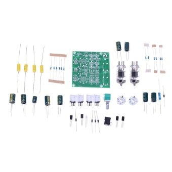 Harga AC 12V 6J1 Valve Pre-amp Tube Pre-Amplifier Board Headphone BufferDIY Kit - intl