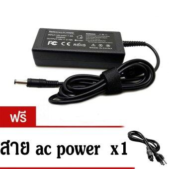 AC adapterที่ชาร์จ notebook 19v3.16a 65w หัวเข็ม for samsung