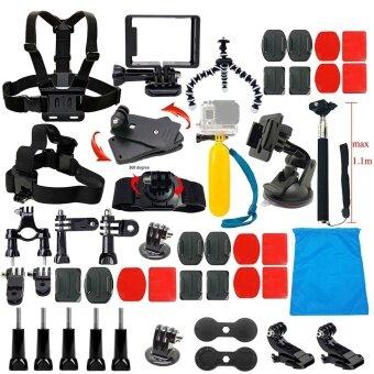Accessories Starter Kit for Gopro Hero 5/Session/4/3/2/HD OriginalBlack Silver Cameras - intl