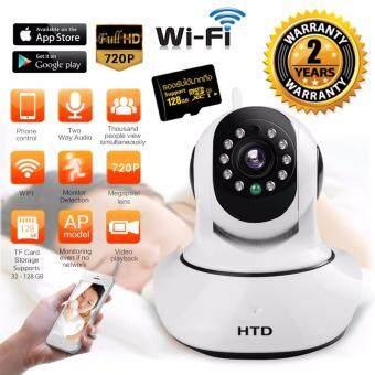 Ace HD P2P กล้องวงจร ปิด IP Camera Support 128GB รุ่น keye – สีขาว