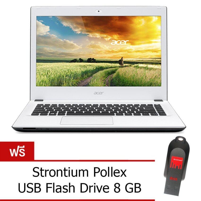 Acer Aspire E5-473G-32ZB (NX.MXKST.033) Core i3-5005U 4GB 1TB Win10 14' (Moonstone White)