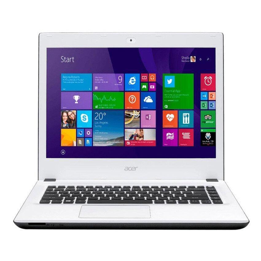 Acer Aspire  E5-473G-590Q  4GB  i5-5200U 14'  (NX.MXKST.034) (Moonstone White)