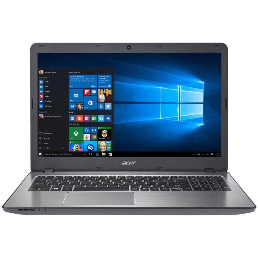 Acer โน๊ตบุ๊ค Notebook Acer Aspire F5-573G-53SJT003-Silver(i5-7200U,4Gb,1Tb,GTX950M-4Gb,15.6')NX.GFMST.003 ลงโปรแกรมพร้อมใช้งาน