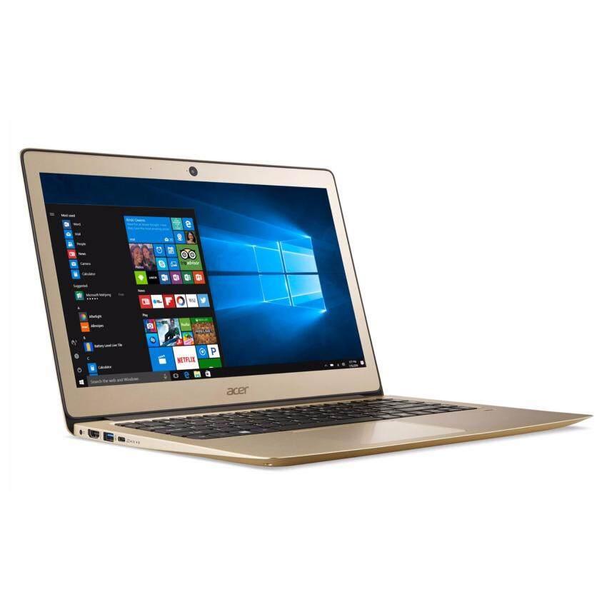 โน๊ตบุค Acer Swift3 SF314-51-356M (Luxury Gold) ลงโปรแกรมพร้อมใช้งาน