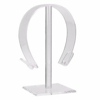 Acrylic Gaming Headphone Stand Holder Earphone Hanger Headset Desk Display Rack intl 2 .