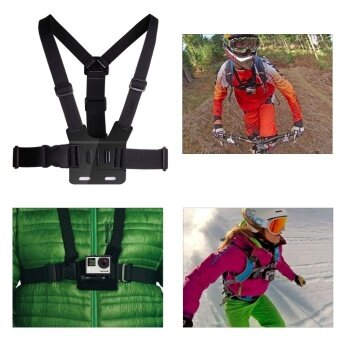 ... Action Camera Gopro Accessories Headband Chest Head Strap for GoproHero 3 3+ 4 SJ4000 Action