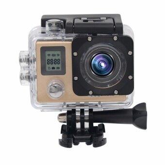 Action กล้อง Ultra HD 4 พัน 30fps 1080 จุด REMOTE WiFi 30 เมตรกล้องกันน้ำ 2.0LCD หน้าจอขนาดใหญ่มินิกีฬากล้อง DV