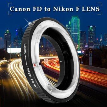 Adapter Ring For Canon FD FL Lens to Nikon F Mount Camera D300D3200 D3100