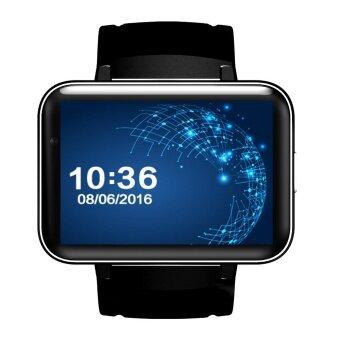 ADS 2.2\ Inch Bluetooth Smart Watch Wristwatch Wifi GPS 3G Wifi WiFi Internet Access Smart Watches Silver - intl