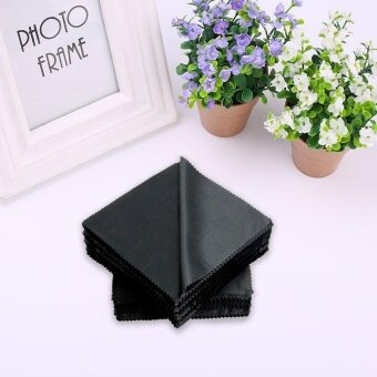 ADS Professional Camera Accessories 14x14cm Lens Glasses LCD Screen Microfiber Cleaning Cloth Wipes Cleaner Square - intl